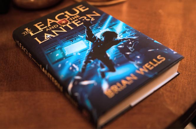 About the league and the lantern book